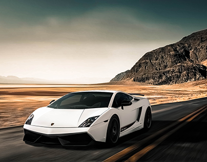Lamborghini Gallardo Superleggera Composition