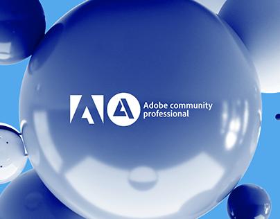 Adobe Community Professionals brand identity concept