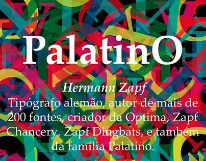 Palatino, Hermann Zapf - Poster