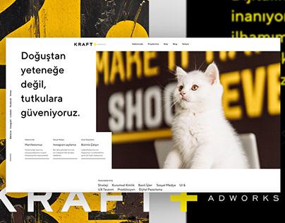 Kraft Adworks - UI & UX Design