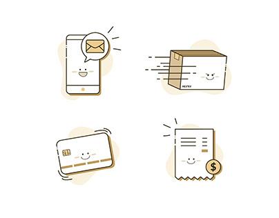 Icon for a Delivery Service | Graphic Design