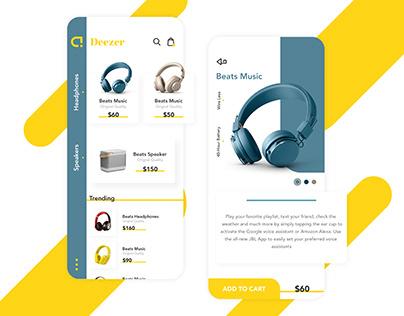 Headphone Store | eCommerce App