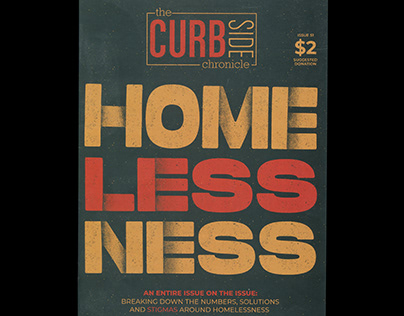 The Curbside Chronicle - Magazine Cover Design