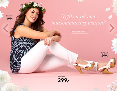 MIDSUMMER FASHION LOOKBOOK for cellbes.se