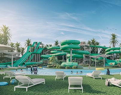 Parc Aquatique in Oran, Algerie
