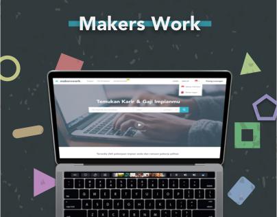 Makers Work Website