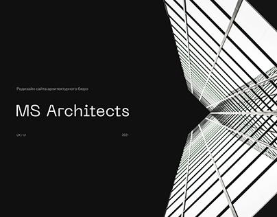 MS Architects Redesign WebSite