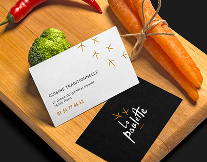 La Poulette Branding