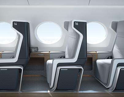 Boom Supersonic Airline Interior