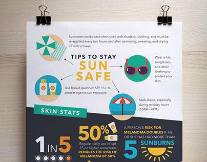 Summer Sun Infographic