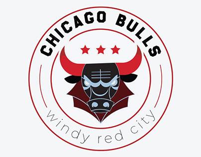Chicago Bulls Logo Design - Windy Red City