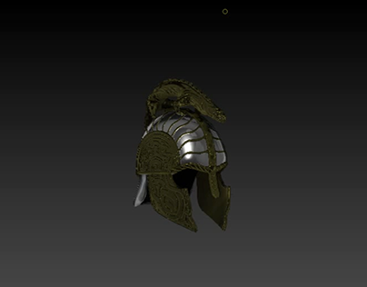 3D Costume Concept - Turin's Dragon Helm