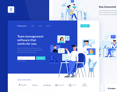Remoteen Team and Task management App