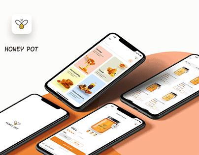 Honey Mobile App UI | UX