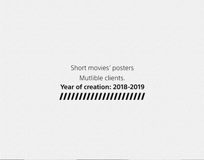 Short movies' posters