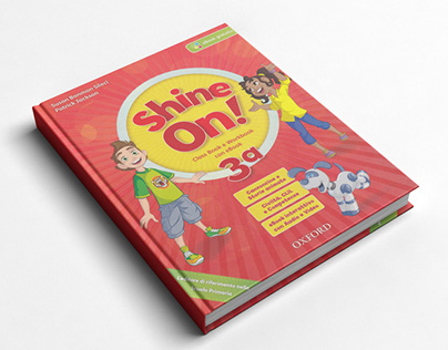 Primary school book for children learning English