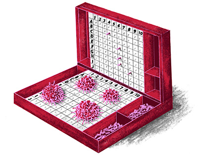 Game theory for cancer treatment