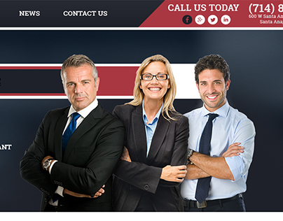 Simple Legal Solutions Website Design