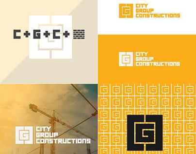 CGC (City Group Constructions) Concept Logo