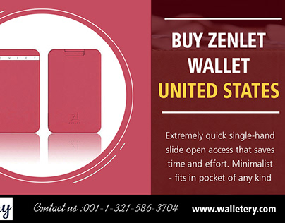Buy Zenlet Wallet United States | 00113215863704 | wall
