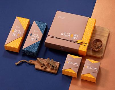 Taiwan Buckwheat Packaging Design