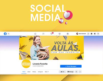 Social Media | Campanha Voltas às Aulas