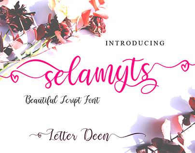 Selamyts Free Font