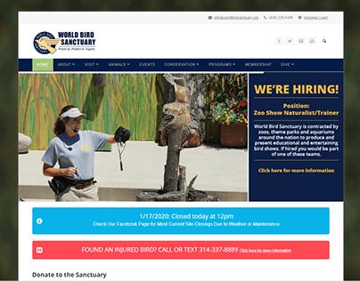 Lower Site Volunteer at World Bird Sanctuary