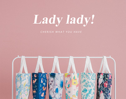 Lady lady! 隨行小提袋設計
