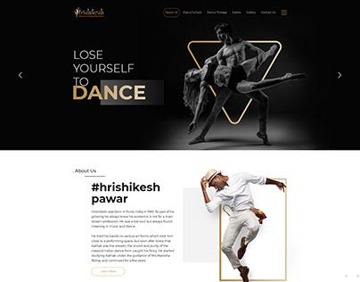 Dance Web Template