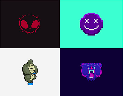 Character logos for online logo maker