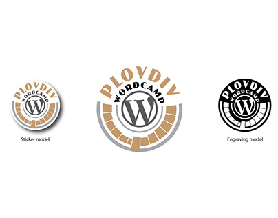 WordCamp Plovdiv logo design