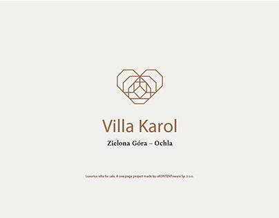 Villa Karl one page project