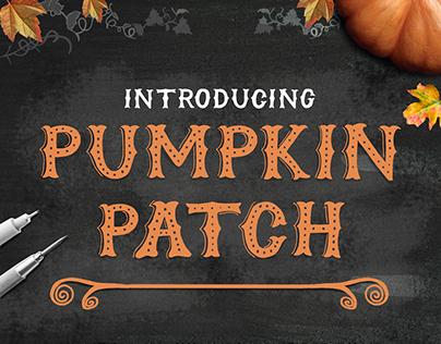 Pumpkin Patch Font