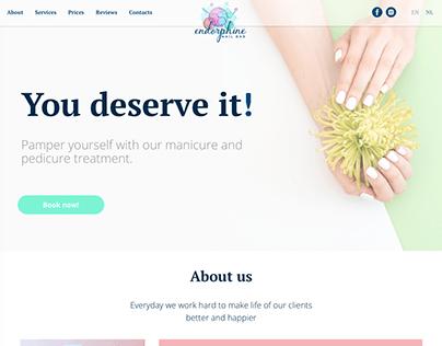 Website redesign on Tilda