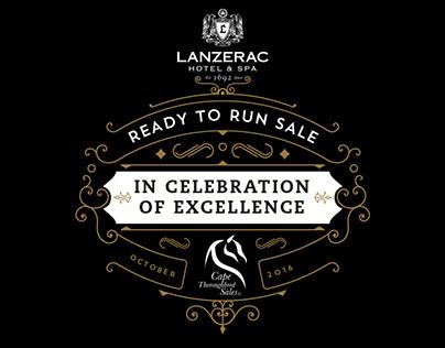 LANZERAC READY TO RUN SALES & STAKES