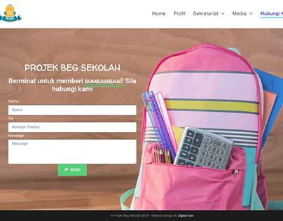 Projek Beg Sekolah - Website