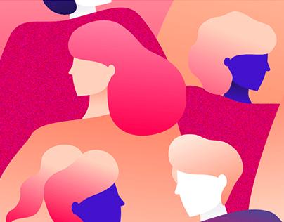 Coletânea de Ilustrações | Blog Méliuz Design