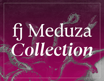 fj Meduza Collection™ typeface