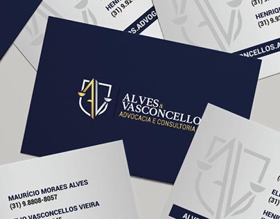 Identidade Visual - Alves & Vasconcellos