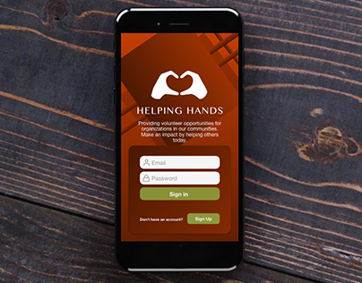 Helping Hands #MadeWithAdobeXD