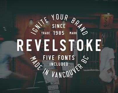 Revelstoke Typeface