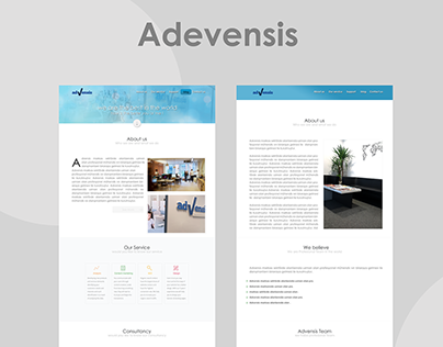 Advensis Web Design