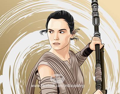 "Rey ""Star Wars: The Force Awakens"""