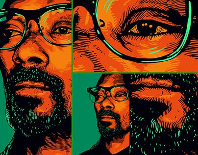 Portrait unique style - Snoop Dogg