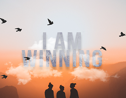 """I Am Winning"" Book Cover"