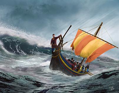 Vikings - Digital Painting