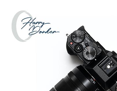 Fotografie Harry Donker - Brand Identity