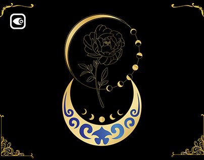 Mystery Rose with Moon