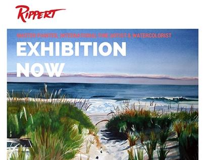 Heather Rippert, Master Painter & Watercolorist